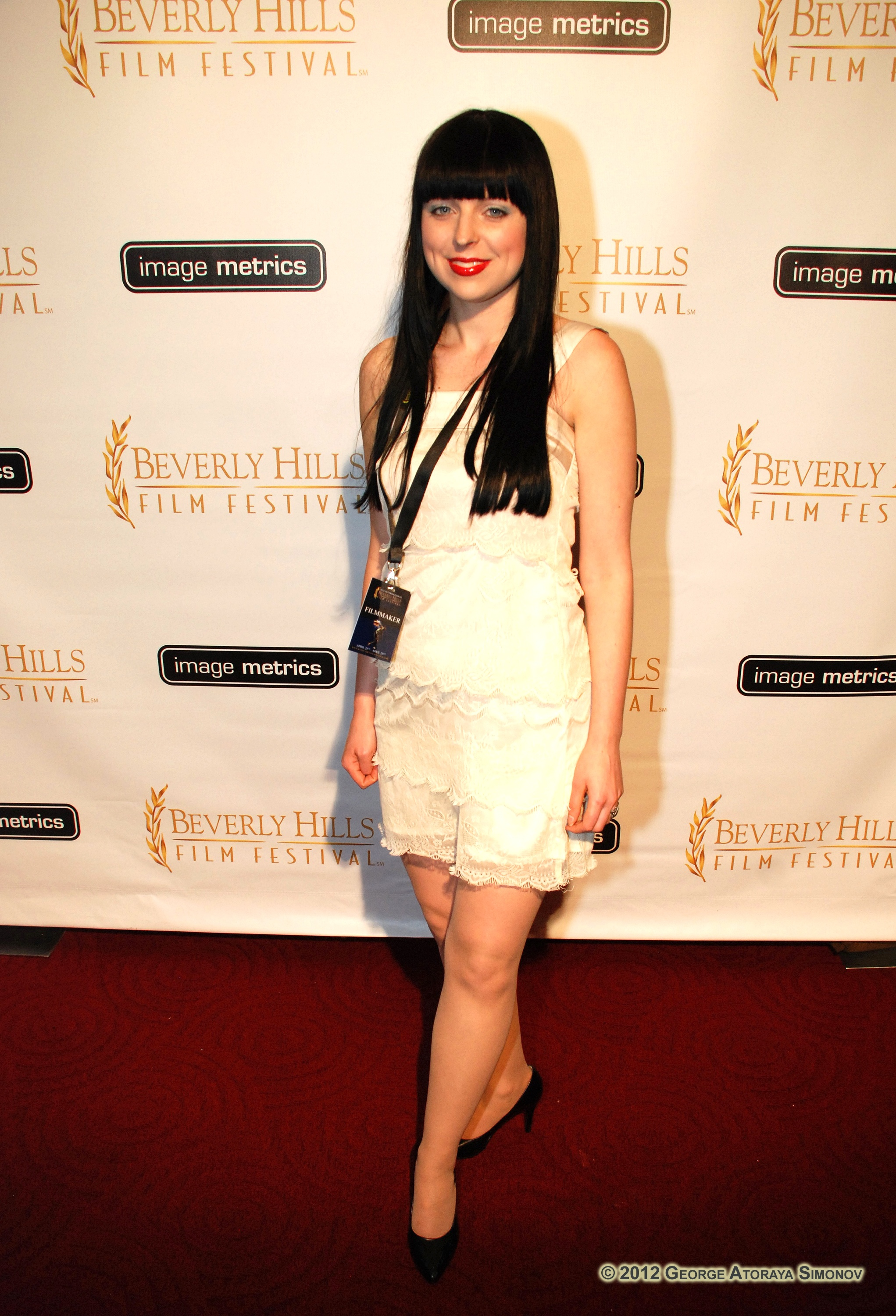 Mel Miskell at 2012 Beverly Hills Film Festival Opening Night