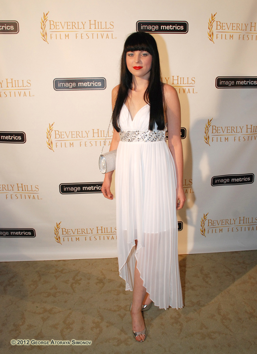 Mel Miskell at Beverly Hills Film Festival Awards Gala